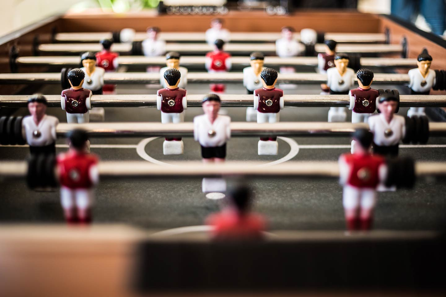 Table Football in a Man Cave